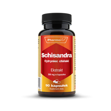 Pharmovit - Cytryniec Chiński (schisandra) 60 caps - suplement diety