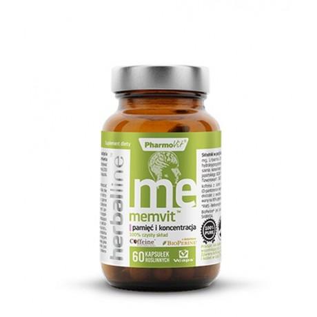 Pharmovit - Herballine Memvit™ Pamięć i koncentracja 60 kaps. – suplement diety
