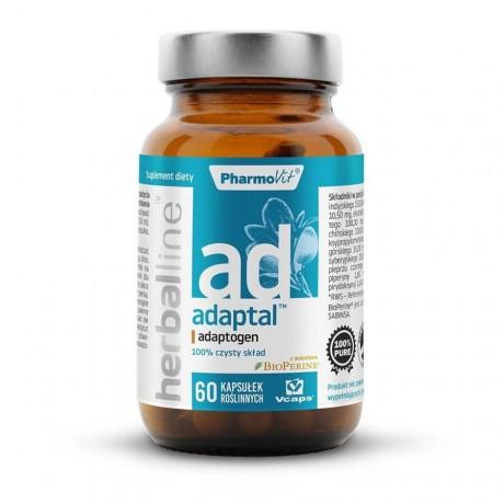 Pharmovit - Herballine - Adaptal - Adaptogen 60 kaps. - Suplement diety.