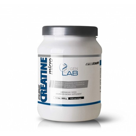 Gen Lab Pure Creatine Micro 500 g - suplement diety.