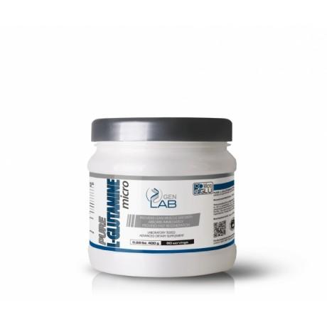 Gen Lab Pure L - Glutamine Micro 400 g - Suplement diety.