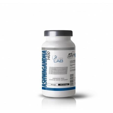 Gen Lab Ashwagandha 1400 72 kapsułki - suplement diety.
