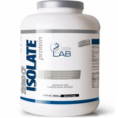 Gen Lab Zero CF Isolate 2000 g - suplement diety