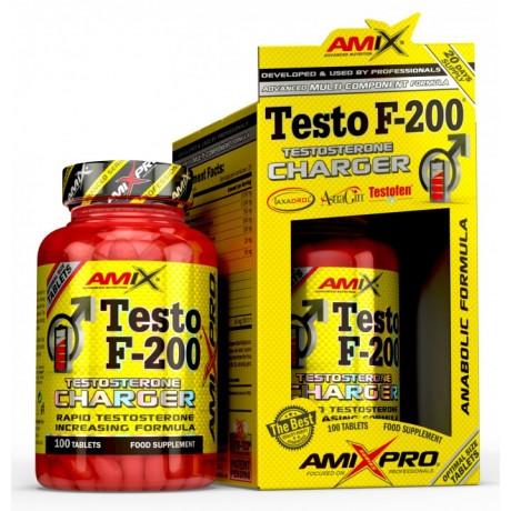 Amix Testo F 200 200 kaps. - suplement diety