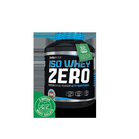 BioTech USA Iso Whey Zero 500 g - suplement diety