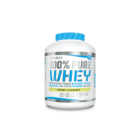 BioTech USA 100% Pure Whey 2270 g  - suplement diety
