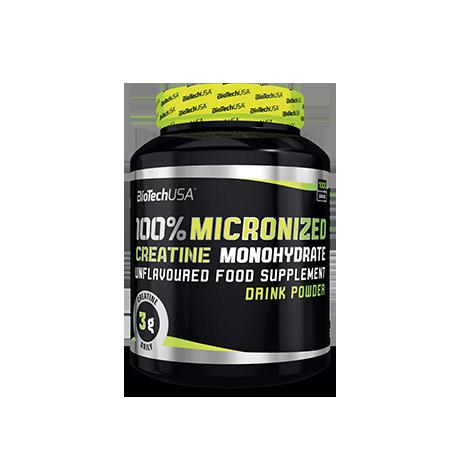BioTech USA 100% Creatine Monohydrate 500 g - suplement diety