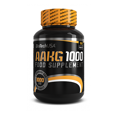 BioTech USA AAKG 1000 100 tab. - suplement diety