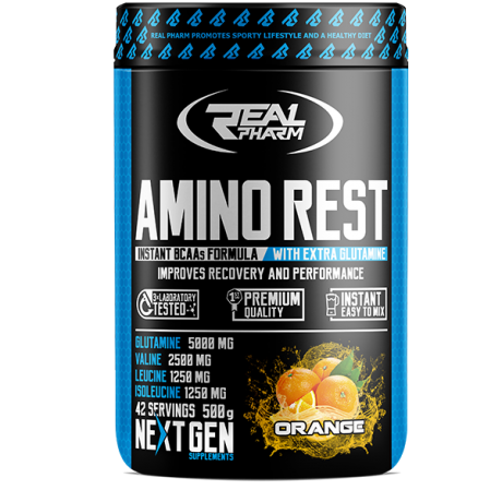 Real Pharm Amino Rest 500 g - Suplement diety.