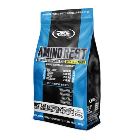 Real Pharm Amino Rest 1000 g - Suplement diety.