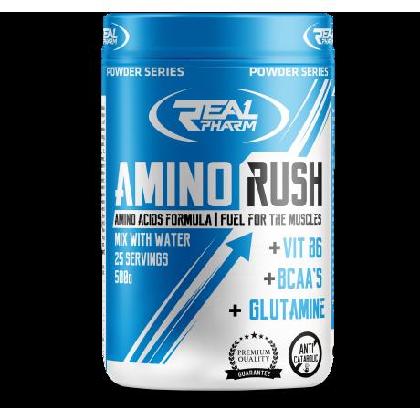 Real Pharm Amino Rush 500 g - Suplement diety
