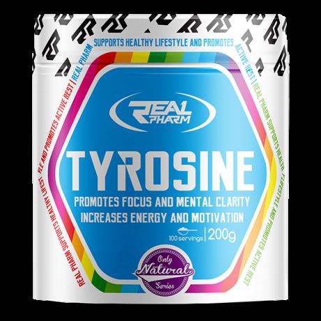 Real Pharm Tyrosine 200 g - Suplement diety