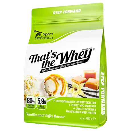 Sport Definition That's The Whey 700 g - Suplement diety.