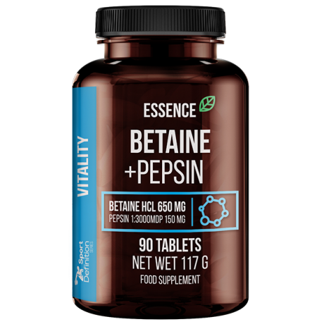 Sport Definition Essence Betaina + Pepsyna 90 tab. - Suplement diety