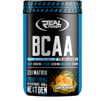 Real Pharm BCAA 400 g -...
