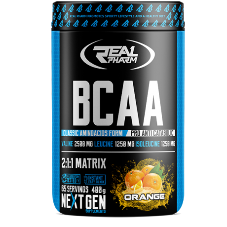 Real Pharm BCAA 400 g - suplement diety