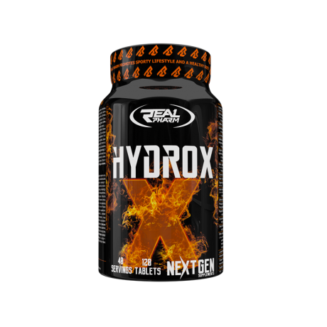 Real Pharm Hydrox 120 tabs - Suplement diety
