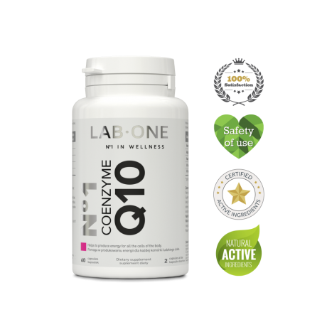 Lab One - N°1 Coenzyme Q10 – 60 cap suplement diety
