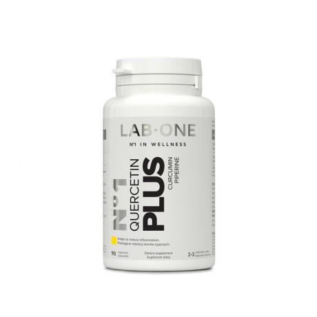 Lab One - N°1 Quercetin PLUS 90 cap. – suplement diety.