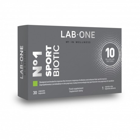 Lab One - N°1 SportBiotic 30 cap. - suplement diety