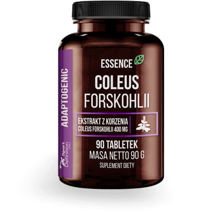 Essence Nutrition Coleus Forskohlii - 90 tabl. - suplement diety