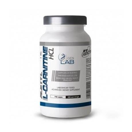 Gen Lab Acetyl L - Carnityne HCL 72 cap. - Suplement diety