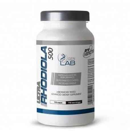 Gen Lab - Rhodiola 72 cap - Suplement diety