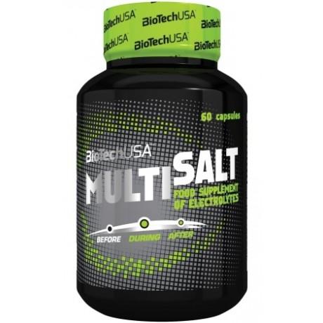 BioTech USA MultiSalt 60 kaps. - Suplement diety