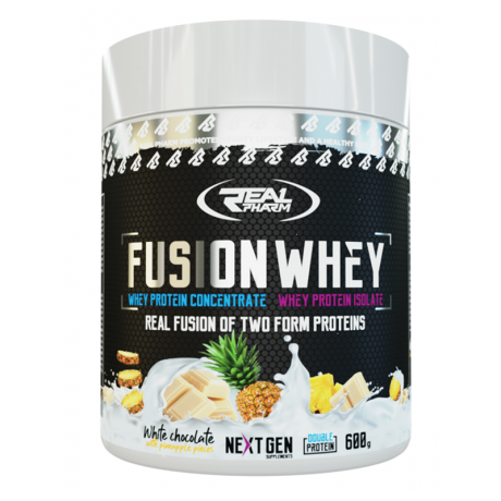 Real Pharm - Fuzion Whey 600 g - Suplement diety