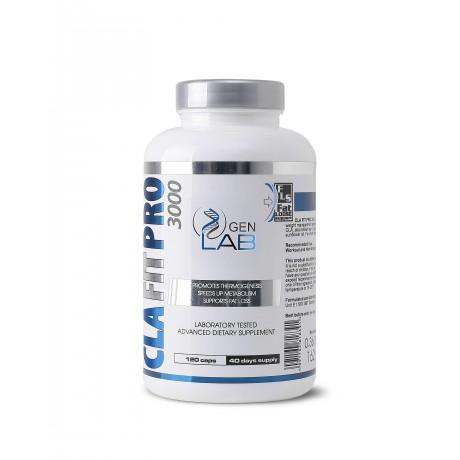Gen Lab CLA Fit Pro 3000 120 kaps - suplement diety