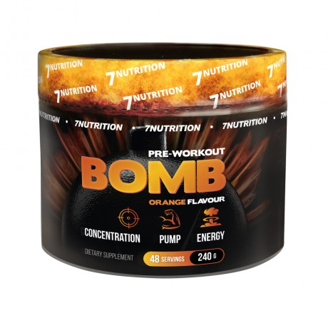 7 Nutrition - BOMB 240 g - suplement diety