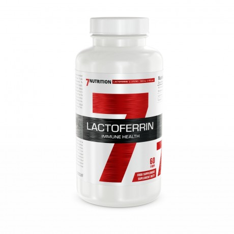 7 Nutrition Lactoferrin 90% 100 mg 60 caps - suplement diety