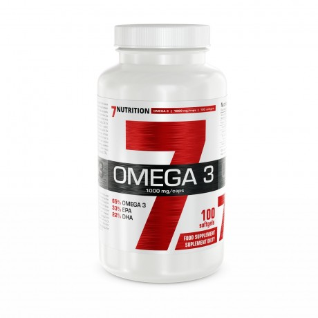 7 Nutrition - Omega 3 100 kaps - suplement diety
