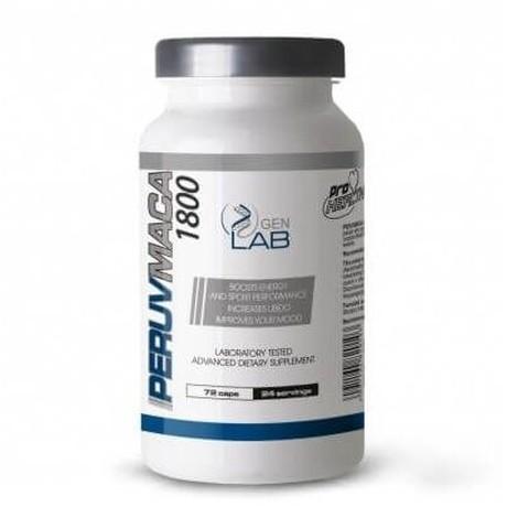 Gen Lab - Peruvmaca 1800 72 cap. - suplement diety.