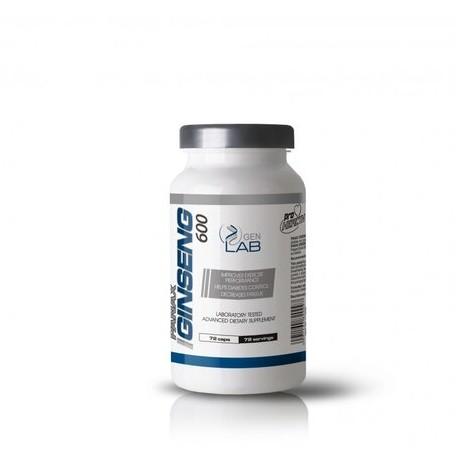 Gen Lab - Panax Ginseng 600 72 kaps. - suplement diety.