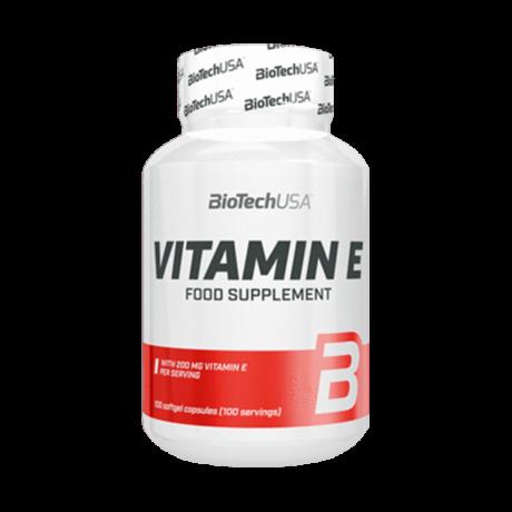 BioTech USA Vitamin E 100 kaps. - Suplment diety