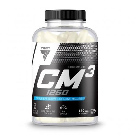 Trec CM3 1250 180 cap - suplement diety.