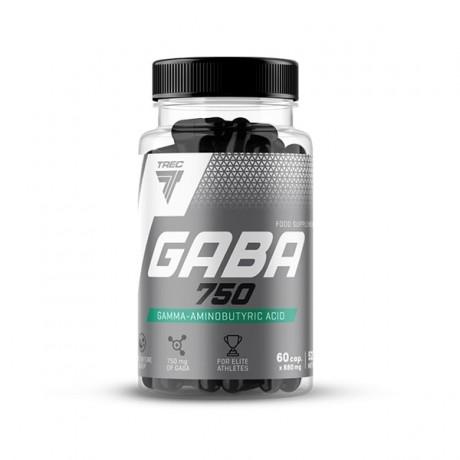 Trec GABA 750 60 cap. - suplement diety.