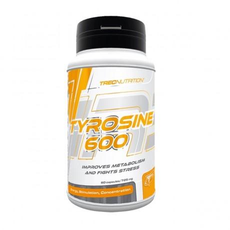Trec - Tyrosine 600 60 kaps. - suplement diety.