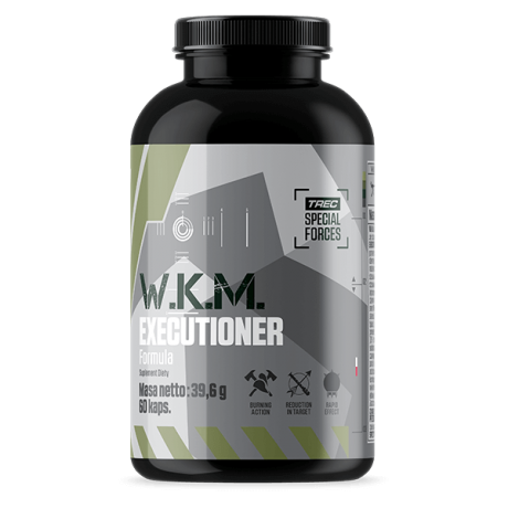 Trec - W.K.M. EXECUTIONER FORMULA 60 kaps. - suplement diety.