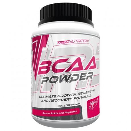 Trec - BCAA powder 400 g - suplement diety