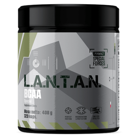 Trec L.A.N.T.A.N. BCAA Special - 320 kaps. - suplement diety.