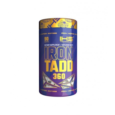 IHS Iron TADD 360 - 90 kaps. - suplement diety.
