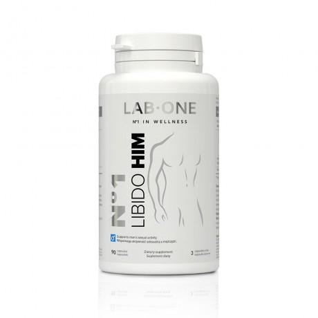 Lab One - N°1 Libido HIM 90 kaps. - suplement diety
