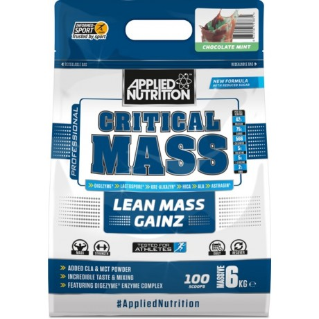 Applied Nutrition  Critical Mass 6 kg - suplement diety