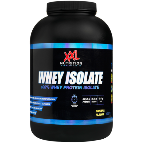 XXL Nutrition - Whey Isolate 1kg - suplement diety.