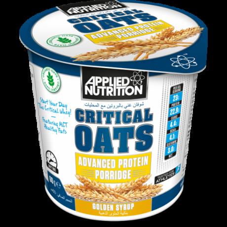Applied Nutrition Critical Oats 60g - organiczna owsianaka białkowa - suplement diety.