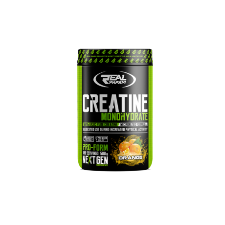 Real Pharm - Creatine monohydrate 500 g - suplement diety.