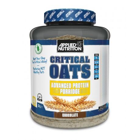 Applied Nutrition Critical Oats 3 kg - organiczna owsianaka białkowa - suplement diety.