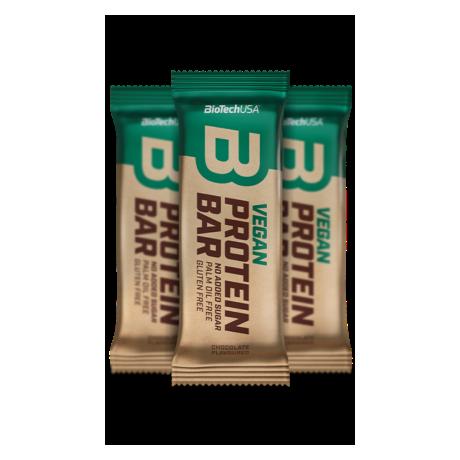 BioTech USA - Baton białkowy Vegan 50 g - suplement diety
